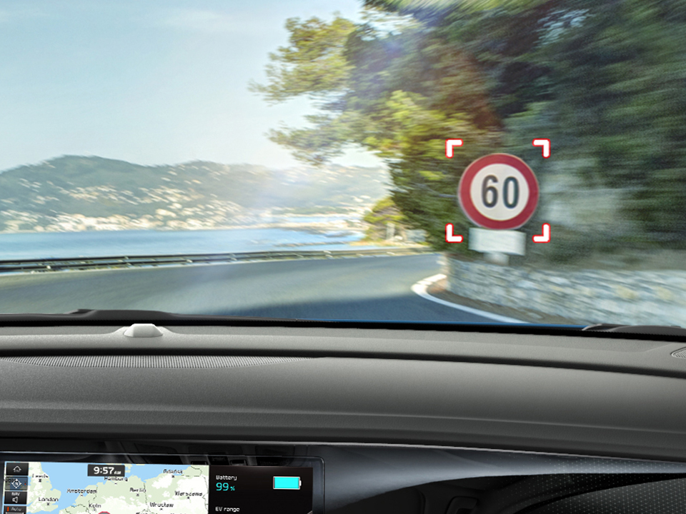 Kia e-Niro Intelligent Speed Limit Warning